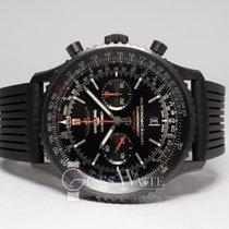 Breitling Navitimer 01 (46 MM) occasion 46mm Noir Chronographe Date Caoutchouc