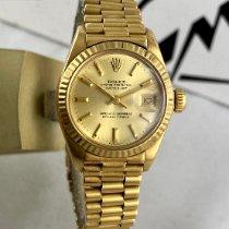 Rolex Lady-Datejust 6917 Gut Gelbgold 26mm Automatik Schweiz, Roveredo
