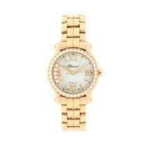 Chopard Happy Sport Rose gold 30mm Silver Roman numerals United Kingdom, LE1 6DN