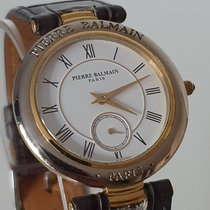 Pierre Balmain Steel 35mm Quartz 17620002 pre-owned