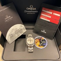 Omega Speedmaster Professional Moonwatch pre-owned 42mm Silver Chronograph Tachymeter Steel