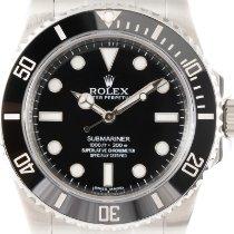Rolex Submariner (No Date) Acier 40mm Noir