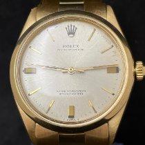 Rolex Oyster Perpetual 34 Oro amarillo 34mm Plata Sin cifras España, Madrid