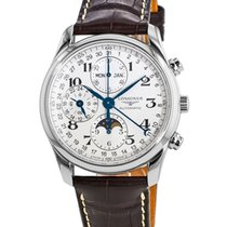 Longines L2.673.4.78.3 Steel Master Collection 40mm new United States of America, New York, Brooklyn