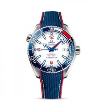 Omega Seamaster Planet Ocean Steel 43.6mm White United States of America, Florida, Miami