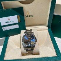 Rolex Oyster Perpetual 39 Acero 39mm Azul Sin cifras