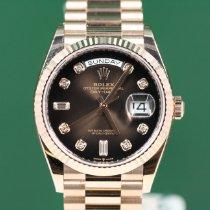 Rolex Day-Date 36 nuevo 2020 Automático Reloj con estuche original 128235
