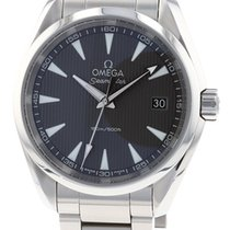 Omega 231.10.39.60.06.001 Acier 2015 Seamaster Aqua Terra 38.5mm occasion