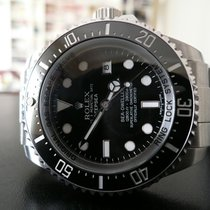 Rolex Sea-Dweller Deepsea Acier 44mm Noir Sans chiffres France, Montpellier