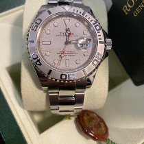 Rolex Steel Automatic Silver No numerals 40mm new Yacht-Master 40