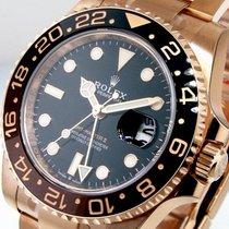 Rolex Pозовое золото Автоподзавод Черный 40mm новые GMT-Master