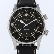 Longines Legend Diver Steel 43mm Black