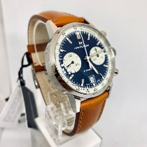 Hamilton Intra-Matic Steel 40mm Blue No numerals United States of America, New York, NY