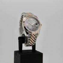 Rolex Datejust II Acero y oro 41mm Gris Sin cifras