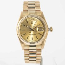 Rolex Day-Date 36 Yellow gold 36mm Gold No numerals United States of America, Massachusetts, Boston