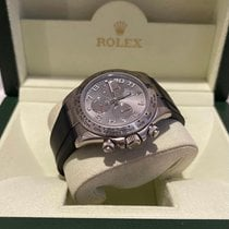 Rolex Or blanc Remontage automatique Blanc 40mm occasion Daytona