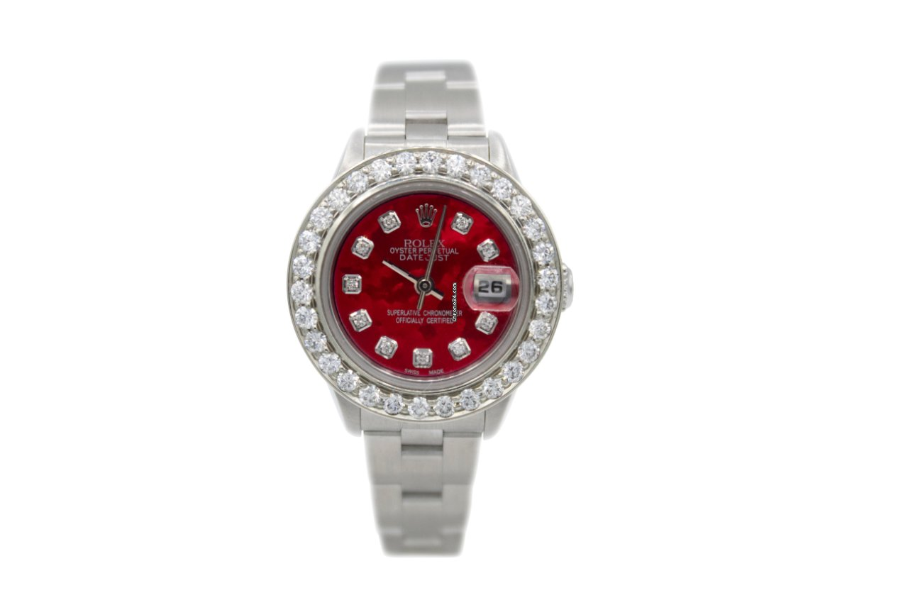 Rolex Oyster Perpetual Lady Date 69190 1999 pre-owned