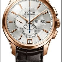 Zenith El Primero Winsor Annual Calendar Rose gold 42mm Silver No numerals United States of America, New York, New York