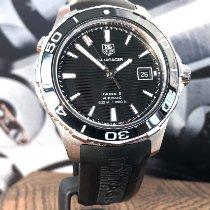 TAG Heuer Aquaracer 500M Acier 41mm Noir Sans chiffres
