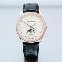 Jaeger-LeCoultre Master Ultra Thin Moon Rose gold 39mm Champagne No numerals