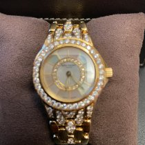 Patek Philippe Neptune Yellow gold Mother of pearl No numerals