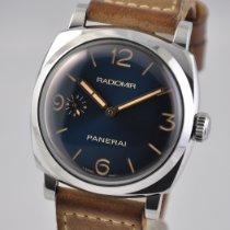 Panerai Radiomir 1940 3 Days Steel 47mm Blue Arabic numerals United States of America, Ohio, Mason