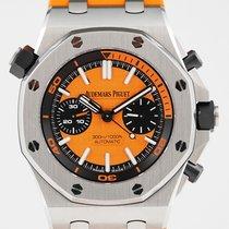 Audemars Piguet Royal Oak Offshore Diver Chronograph Acier 42mm Orange Sans chiffres