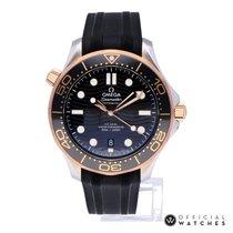 Omega Seamaster Diver 300 M Or/Acier 42mm Noir