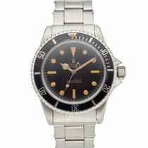 Rolex Remontage automatique Noir Submariner (No Date)