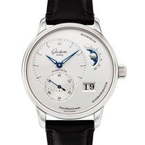 Glashütte Original PanoMaticLunar Steel 40mm Silver United States of America, New York, New York