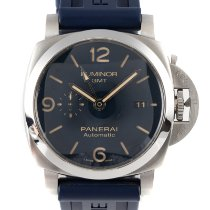 Panerai Luminor GMT Automatic Stal 44mm Niebieski