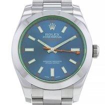 Rolex Milgauss Acier 40mm Bleu Sans chiffres France, Paris