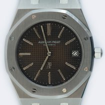 Audemars Piguet Royal Oak Jumbo occasion 39mm Brun Date Acier