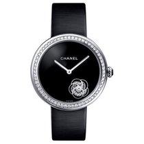 Chanel Mademoiselle White gold Black