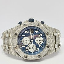 Audemars Piguet Royal Oak Offshore Chronograph Titane 42mm Bleu Arabes