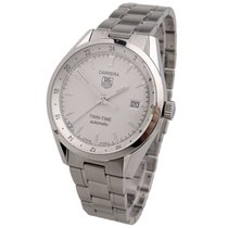TAG Heuer Carrera Calibre 7 Acero 40mm Blanco