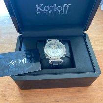 Korloff Gold/Stahl 43mm Quarz ID00015119 neu Deutschland, ESSEN