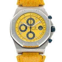 Audemars Piguet Royal Oak Offshore Chronograph Steel 42mm Yellow United States of America, California, Beverly Hills