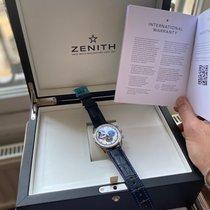 Zenith El Primero Chronomaster Acier 42mm Bleu Sans chiffres France, Paris