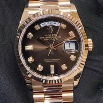 Rolex Day-Date 36 Oro rosa 36mm Marrón Sin cifras España, Barcelona