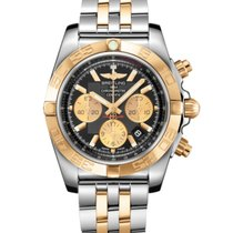 Breitling Chronomat 44 Gold/Steel 44mm Black No numerals United States of America, New Jersey, Princeton