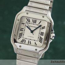 Cartier Santos (submodel) подержанные 33mm Cеребро Сталь