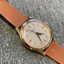 Patek Philippe Calatrava Yellow gold 35mm Silver