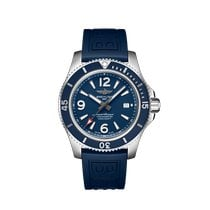 Breitling Steel Automatic Blue Arabic numerals 44mm new Superocean 44