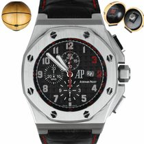 Audemars Piguet Royal Oak Offshore Chronograph Steel 48mm Black United States of America, New York, Smithtown