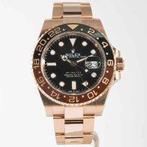 Rolex GMT-Master II Rose gold 40mm Black No numerals United States of America, Massachusetts, Boston