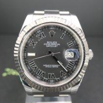 Rolex Datejust II Stahl 41mm Grau Keine Ziffern Deutschland, München