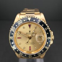 Rolex GMT-Master II Yellow gold 40mm Gold No numerals