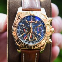 Breitling Chronomat 44 GMT Oro rosa Negro