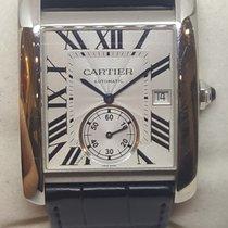 Cartier Tank MC Steel 34mm Silver Roman numerals United States of America, Colorado, Denver